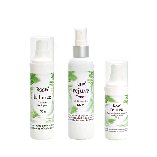 mature skincare system by rocia naturals