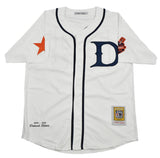 Detroit Stars White Buttondown Jersey