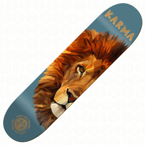 SKATE FOR THE PLANET - Lion