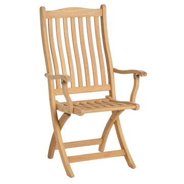 Alexander Rose Roble Folding Carver Garden Chair