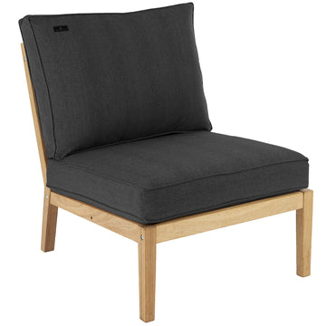 Alexander Rose Roble Lounge Middle Module with Cushions (FSC 100%)