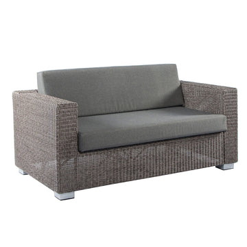 Alexander Rose Monte Carlo Grand 2 Seater Sofa With Black Cushion