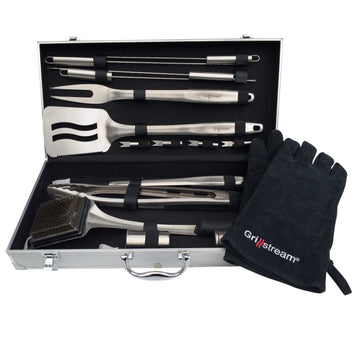 Grillstream Gourmet 18pc Barbecue Tool Set
