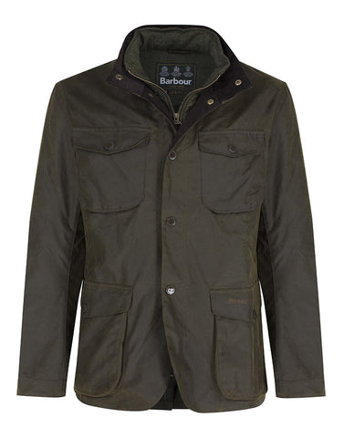 Barbour Ogston Wax Jacket (Olive)