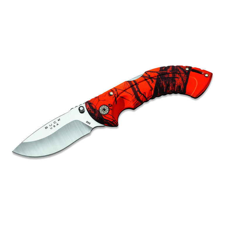 Buck Omni Hunter Orange Folder - 395CMS9