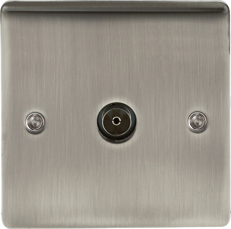 BG NBI60 Iridium Co-Axial Socket 1 Gang