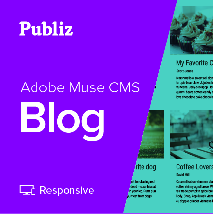 Adobe Muse Blog