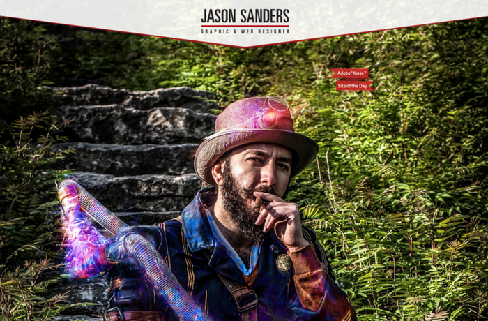 Jason Sanders Designer Website, Canada