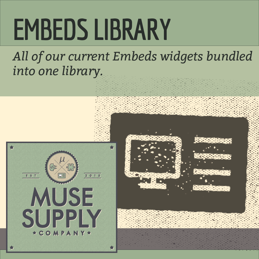 LIBRARY: Embed Widgets