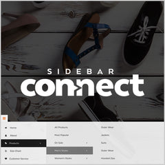 adobe muse sidebar connect widget