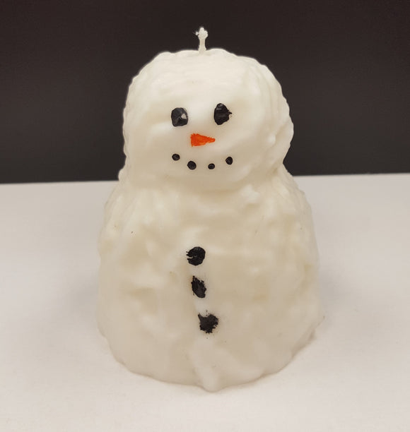 Wick'd Wax Snowman Candle - Unscented