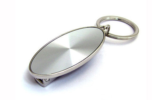 Elegance 13791 Oval Key Fob with Handbag hanger