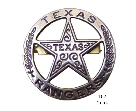 Denix Replica 102 Badge Texas Ranger