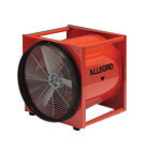 "Allegro® 19"" X 22"" X 22 1/2"" 4650 cfm 1/2 hp 115 VAC 7.2 A Motor Cold Rolled Steel Standard Axial Blower"