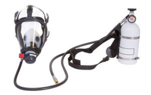 "Honeywell Panther'Ñ¢ 3/8"" Nylon And Hoop-Wrap Fiberglass Pressure Demand Supplied Air Respirator With 10-Minute Hip-Pac, Facepiece And Nylon Harness (Without Quick-Disconnect)"