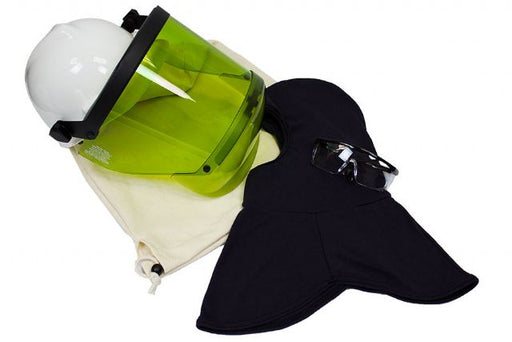 National Safety Apparel® ArcGuard® Green 12 cal/cm² HRC 2 Faceshield Kit With UltraSoft® Balaclava