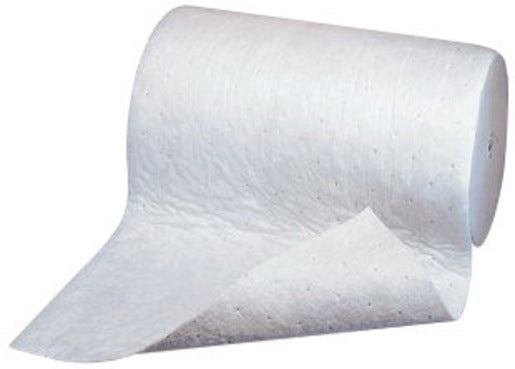 "3M'Ñ¢ 38"" X 150' Light Gray Polypropylene And Polyester High Capacity Maintenance Sorbent Roll"