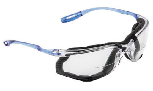 3M'Ñ¢ Virtua'Ñ¢ CCS 1.5 Diopter Safety Glasses With Clear Frame, Clear Polycarbonate Anti-Fog Lens And Foam Gasket Attachment