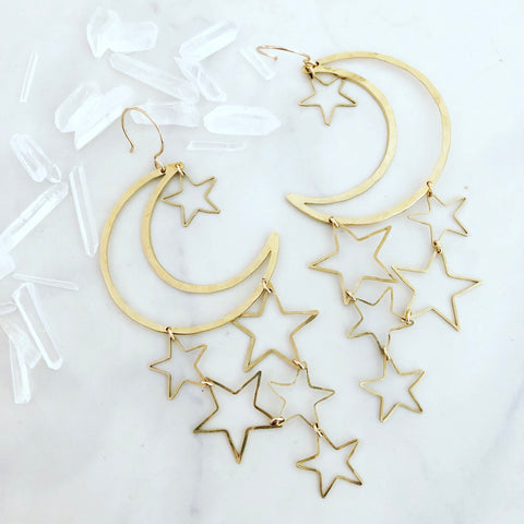 XL Milky Way Earrings