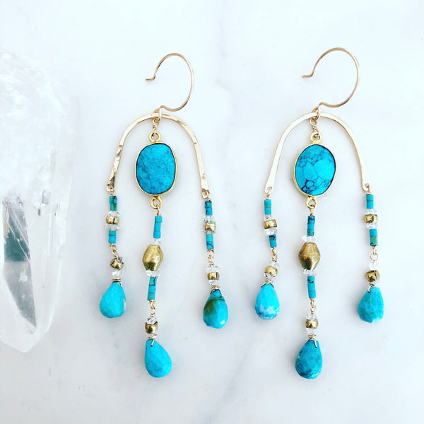 Turquoise Paradiso Earrings