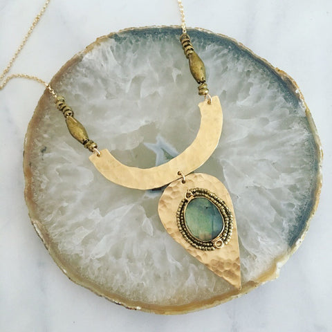 Gold Tarra Necklace