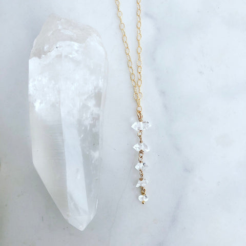 Crystal Rain Necklace