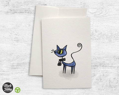 Curiosity Killed the Cat - Greeting Cards