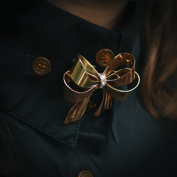 Weaponize your clothing with brooches...