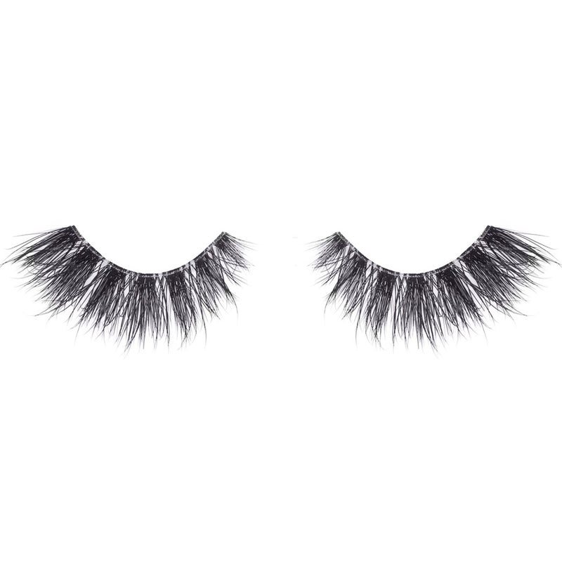 no. 47 3D clear band mink lashes luxury lashes lotus lashes bandless