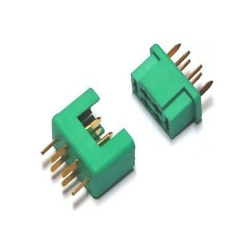 Multiplex MPX Battery Connector (Male+Female) 6 Pin