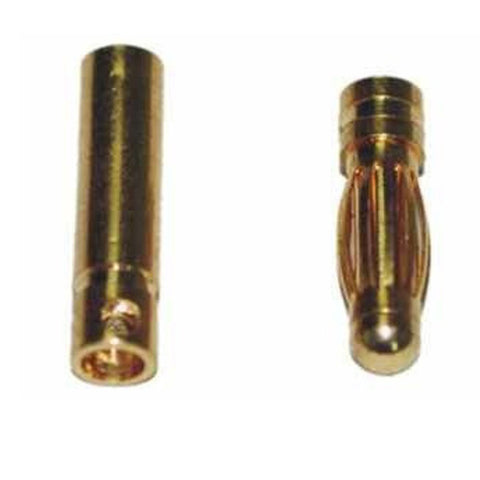 Bullet Connector 3mm (Male+Female)