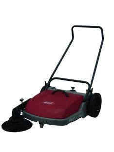 The KS27R is an ideal replacement for manual sweeping, it picks up dirt quickly without leaving dust behind