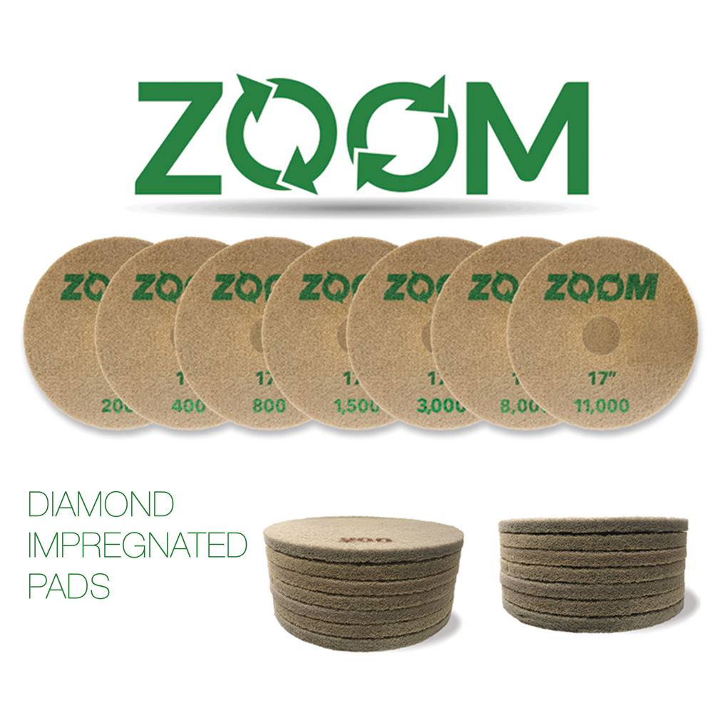STONEPRO ZOOM DIAMOND IMPREGNATED PADS (D.I.P)