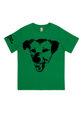 Happy Dog, 100% Organic Cotton, for the Kids - Simple Animal  - 5