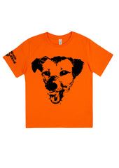 Happy Dog, 100% Organic Cotton, for the Kids - Simple Animal  - 1
