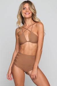 Queens Bikini Bottom in Beach Babe