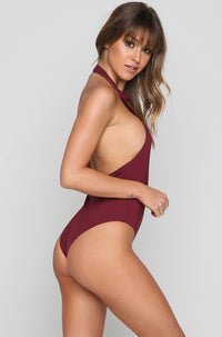 Chloe One Piece in Burgundy