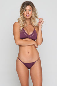 My Surf Top in Plum