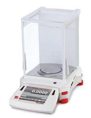 OHAUS EX124/AD EXPLORER ANALYTICAL BALANCE 120g 0.1mg - 2YR WARRANTY - Ramo Trading