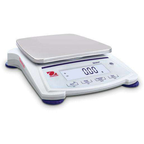 Ohaus Scout SJX1502N/E Jewelry Carate Scale 1500 gram x 0.01 gram NTEP 0.1 gram - Ramo Trading