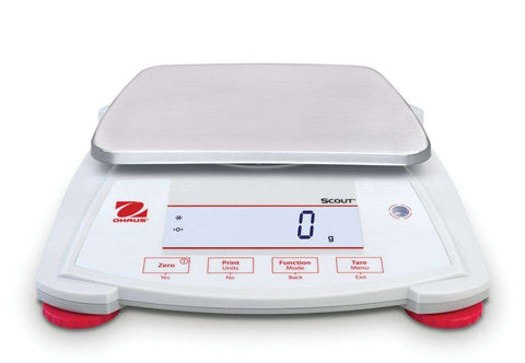 OHAUS Scout SPX1202, Capacity 1200g, 0.1g Portable Balance 2 Years Warranty