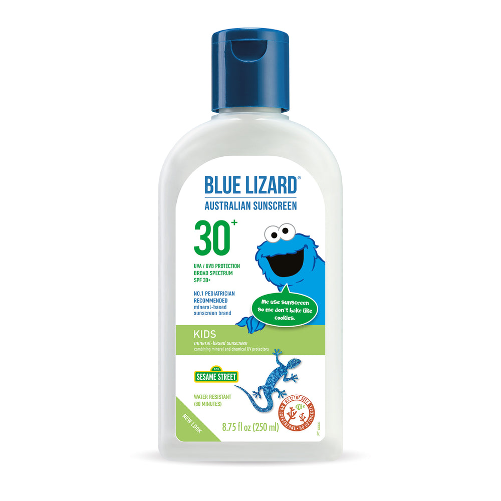 NEW! Blue Lizard Australian Sunscreen Kids 8.75oz Bottle