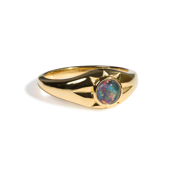 Helios Ring | Gold