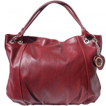 Soft Leather Hobo Bag - Heidi