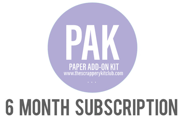 PAK 6 MONTH SUBSCRIPTION