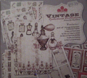 Vintage Ephemera Collection designed by Steph Davies for Craftwork Cards