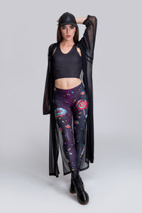 Space Munchiez Leggings Leggings >> BADINKA