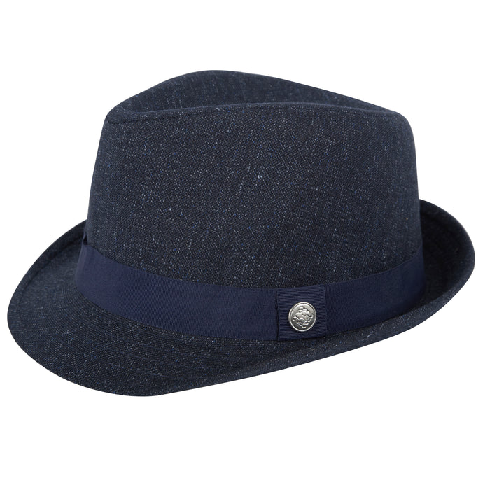 Navy Fedora - Andy & Evan
