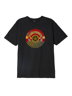 OBEY - Tunnel Vision Men's Tee, Black
