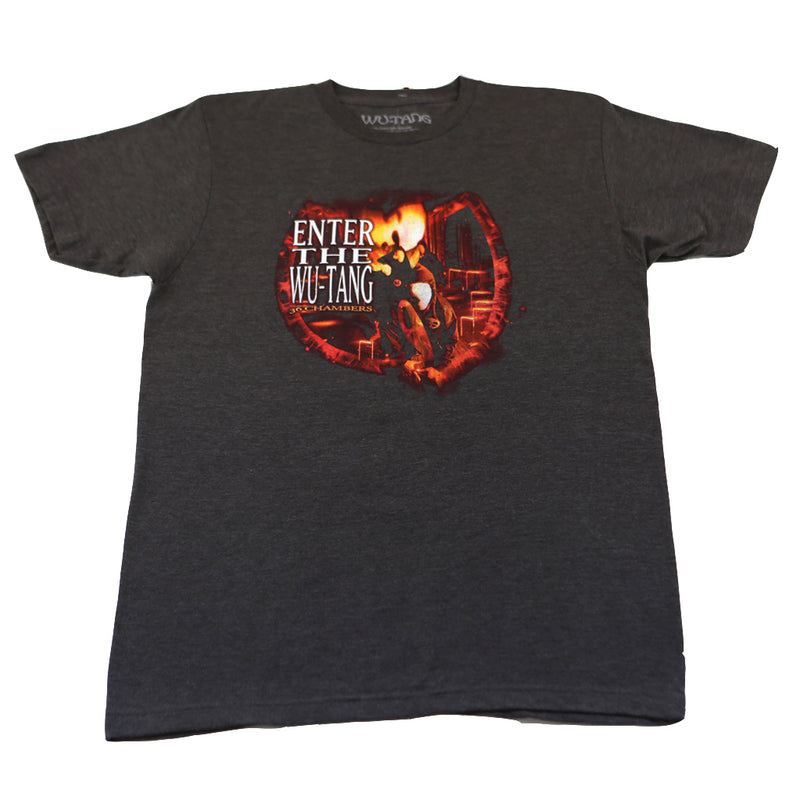 Wu-Tang Clan - 36 Chambers Men's Shirt, Heather Charcoal